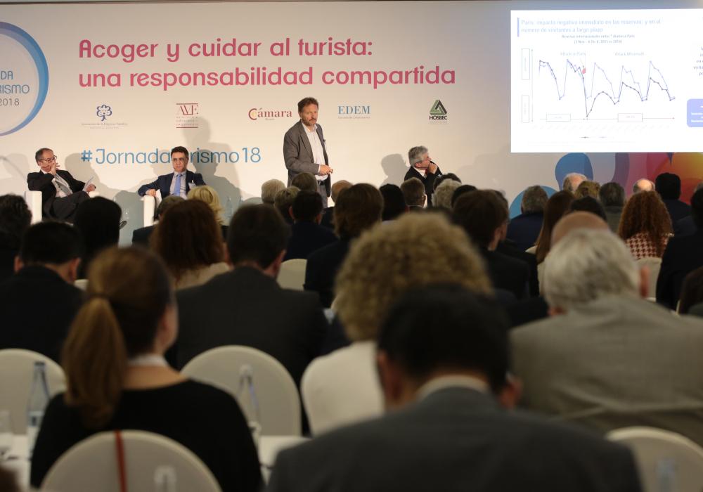 200 empresarios apoyan a la industria turística, sector clave para la economía de la Comunidad Valenciana y de España en la V Jornada de Turismo en Benidorm